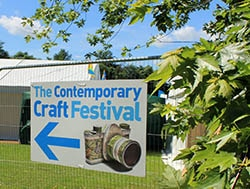 WBW Proudly Sponsor the Contemporary Craft Festival