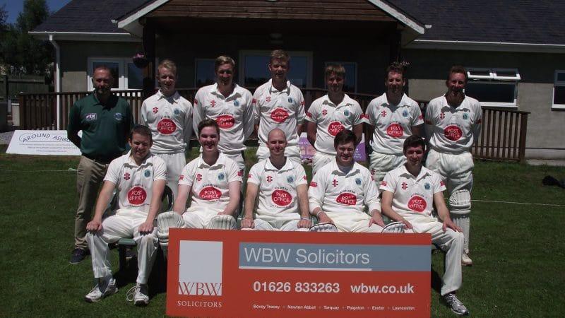 WBW Solicitors sponsor Ashburton Cricket Club