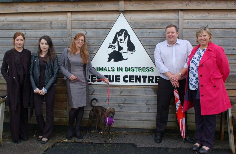 Private Client Team Support Local Animal Charity
