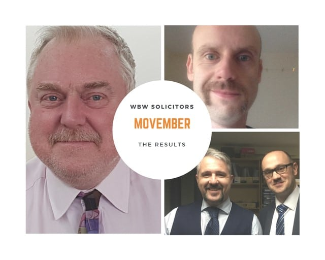 Movember 2017 – The Result