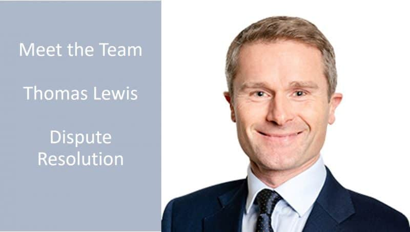 Staff Profile: Thomas Lewis