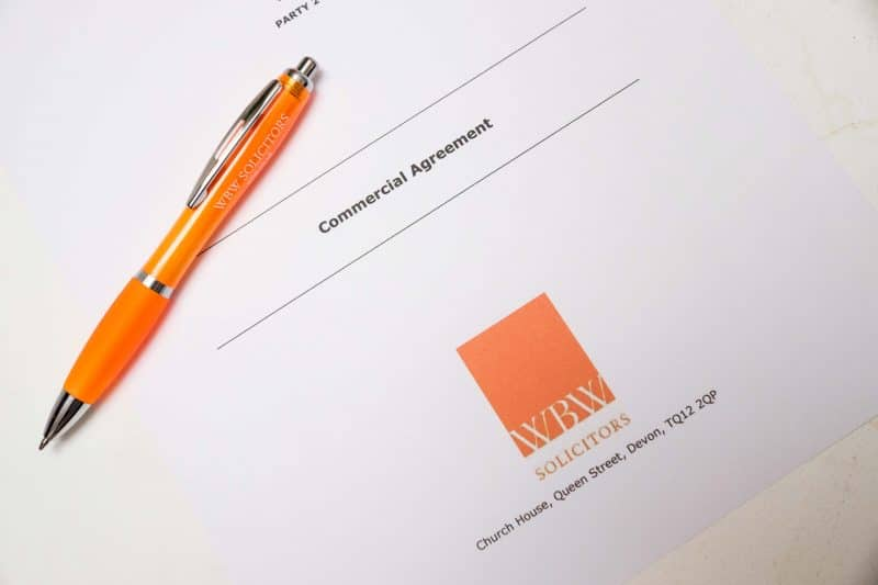 commercial agreement contract