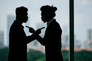 Conflict between business partners