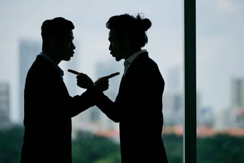 Conflict between business partners