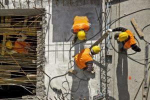 glass injury construction