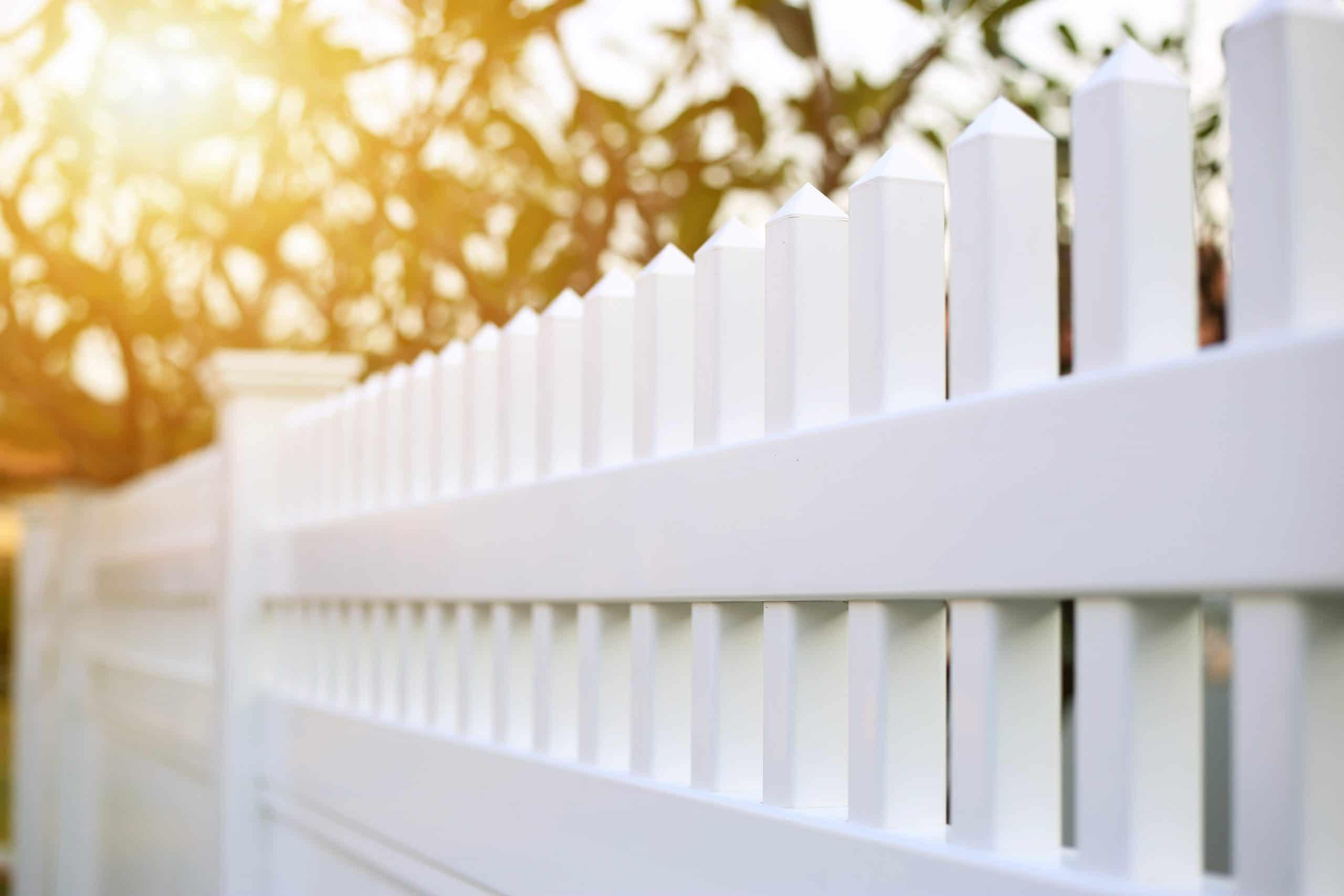white fence boundary dispute