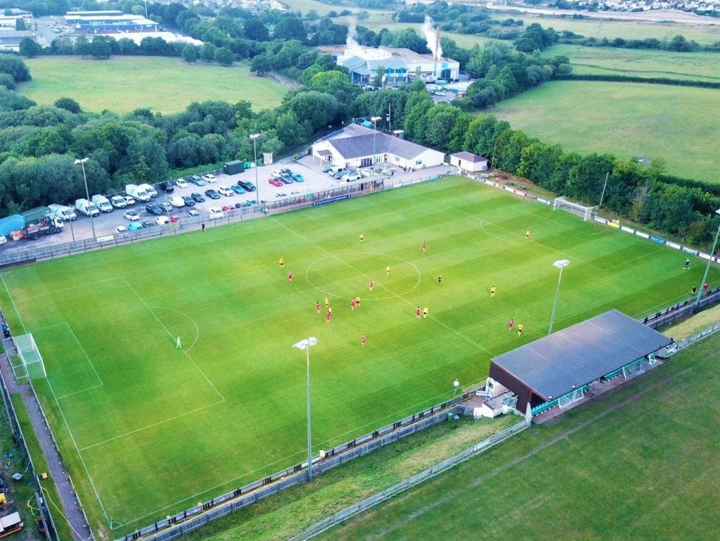 Sponsorship of Buckland Athletic Aerial Photo 1